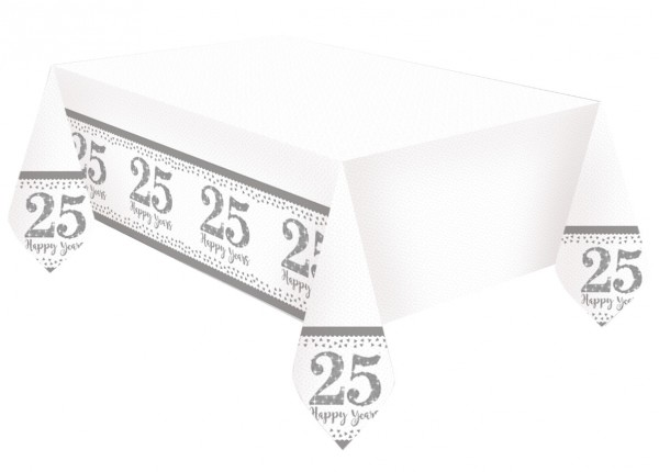 Sparkling 25 Years tablecloth