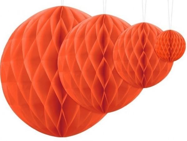 Wabenball Lumina orange 10cm