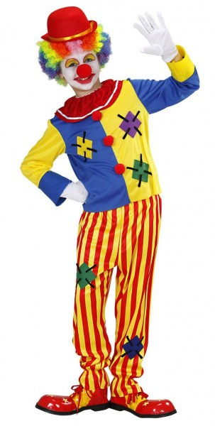 Zirkus Clown Fridolin Kinderkostüm