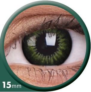 Grüne Kostüm Kontaktlinse