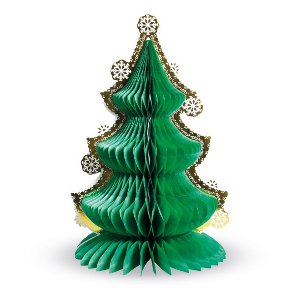 Christmas tree honeycomb ball stand 30cm
