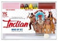 Native American Indianer Schmink-Set