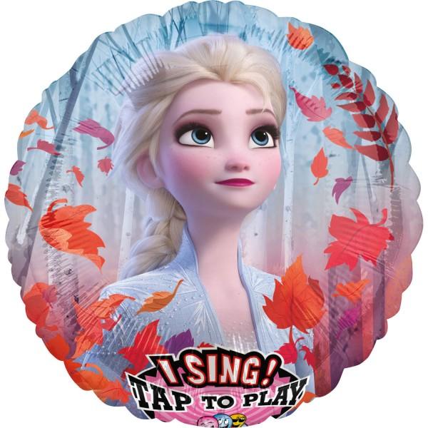 Globo musical Elsa Frozen cantando 71cm