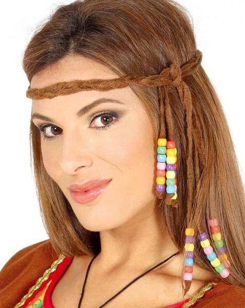 faf6e8bcc93124 Hippie Haarband mit Perlen | Party.de