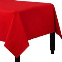 Papier Tischdecke Marisol rot 90 x 90cm