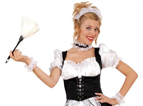Zimmermädchen Staubwedel