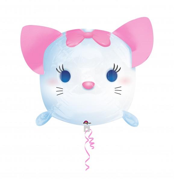 Folienballon Tsum Tsum Aristocats Marie