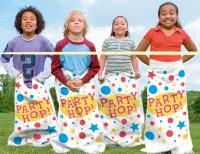 6 Party Hüpfsäcke 92x62cm