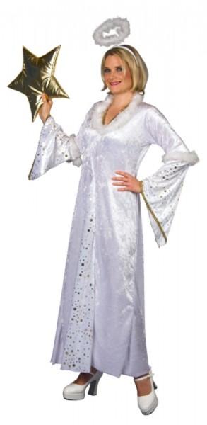 Weißes Sternenengel Kleid