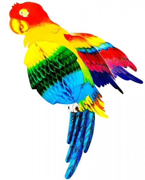 Bunte Papageien Dekoration 38cm 1