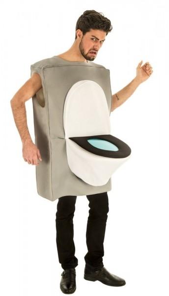 Toilettenkasten WC Kostüm