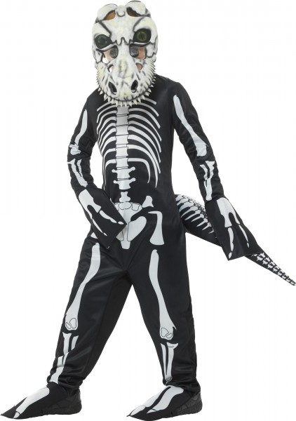 Dinosaur skeleton child costume