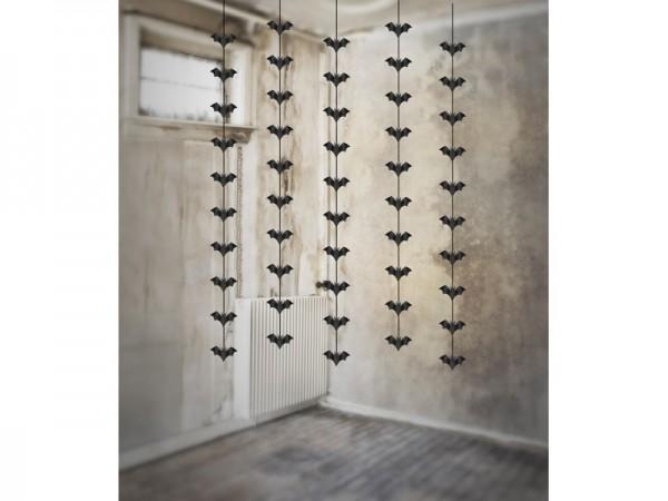 5 ghirlande pipistrelli da appendere