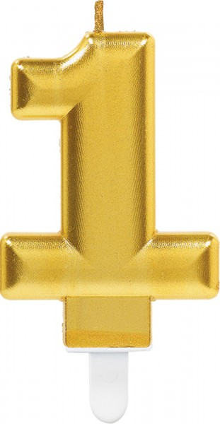 Golden number candle 1
