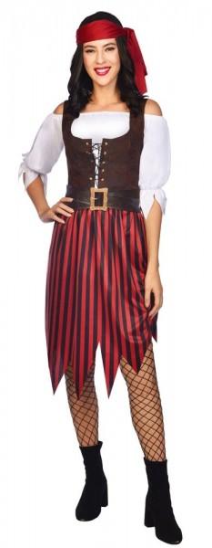 Piratin Damenkostüm Lilly
