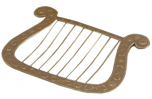 Arpa de accesorios de disfraz de ángel