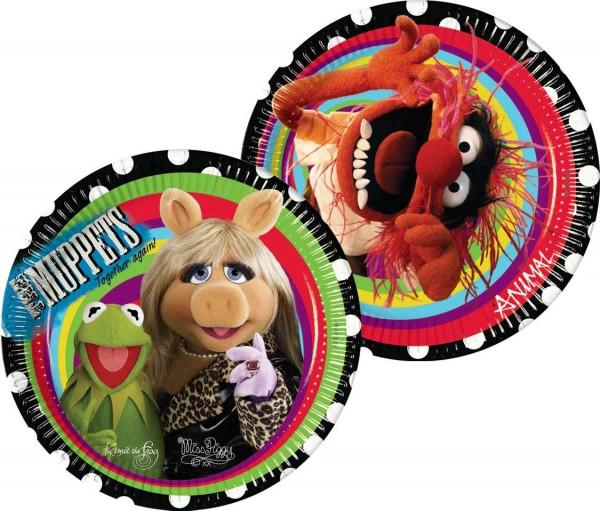 10 Muppets Kermit And Friends Runde Pappteller 20cm