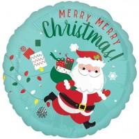 Merry Merry Christmas Folienballon 45cm