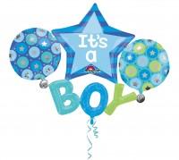 Folienballon Babyparty Kleiner Prinz