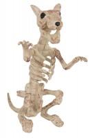 Rattenskelett Halloween Grusel Dekoration 24x12cm