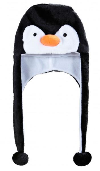 Kuschelige Pinguin Mütze