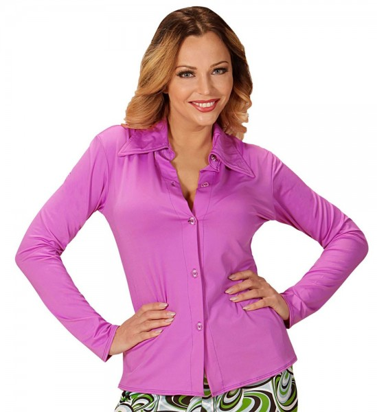 Bluzka damska Partystar w kolorze magenta