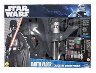 Starwars kids costume Darth Vader Deluxe Set Sithlord