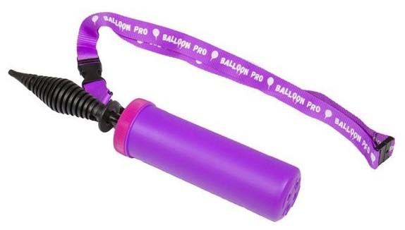 Mała fioletowa pompka balonowa dwusuwowa