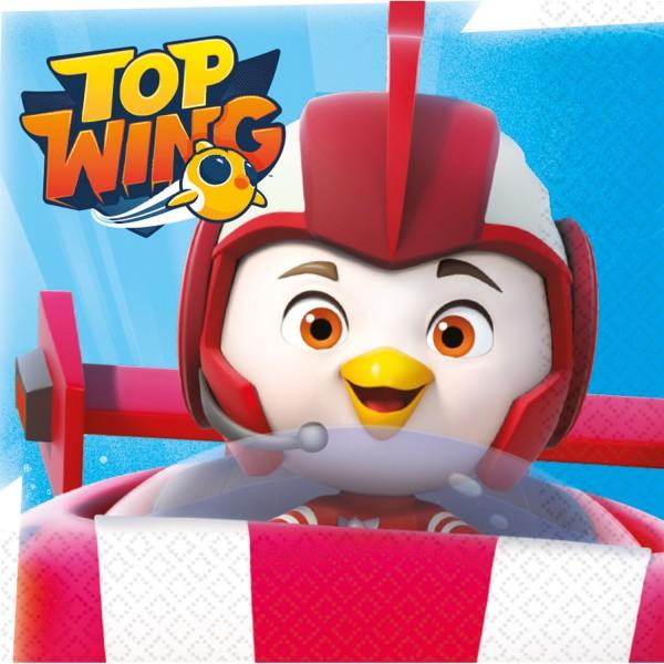 16 Top Wing Helden Servietten 33cm