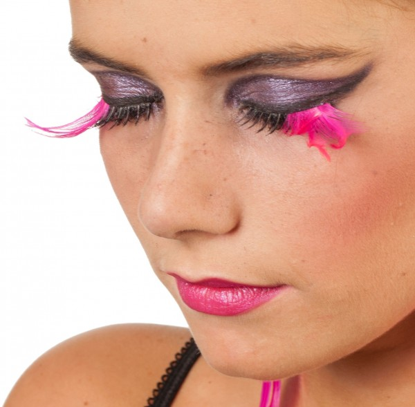 Pink Wing Party Diva Wimpern