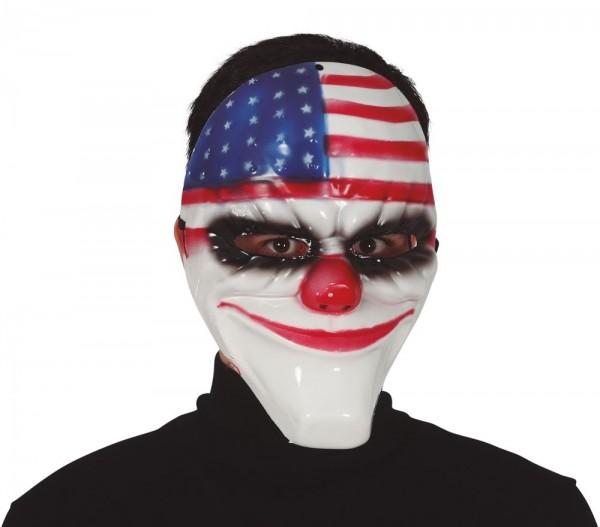 USA horror clown masker voor volwassenen