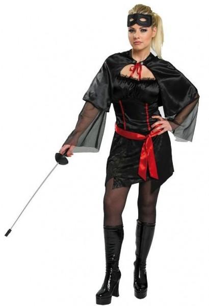 Mysteriöse Rächerin Alexandra Kostüm