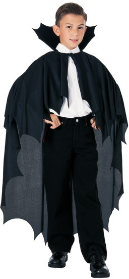 Vampire costume kids Dracula collar black