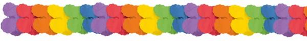 Rainbow Papier Girlande 3,65m