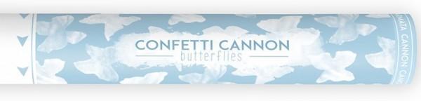 Konfetti Kanone Schmetterling 40cm