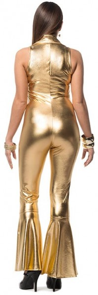 Sexy Disco Fever catsuit gold