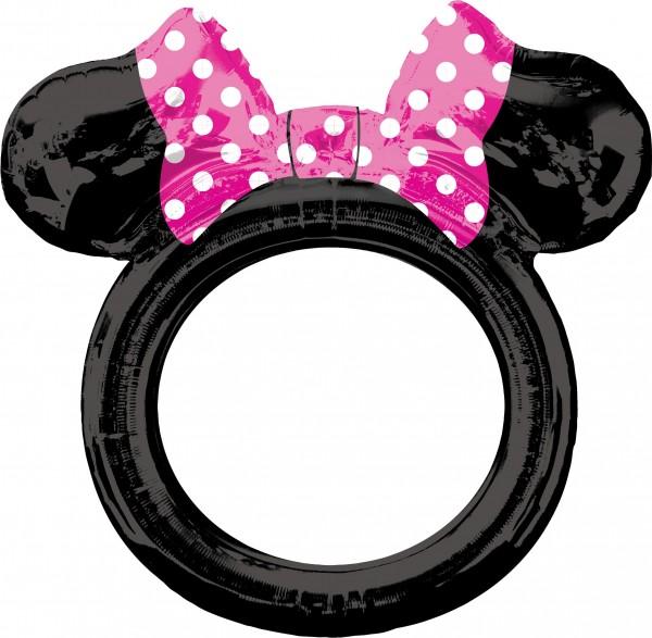 Minnie Mouse Fotorahmen Ballon