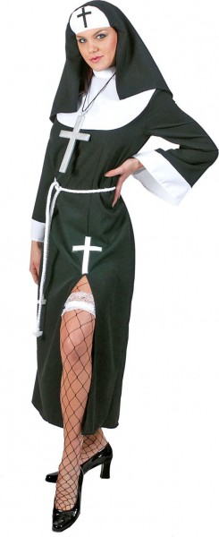 Sexy Nonne Daniela Kostüm