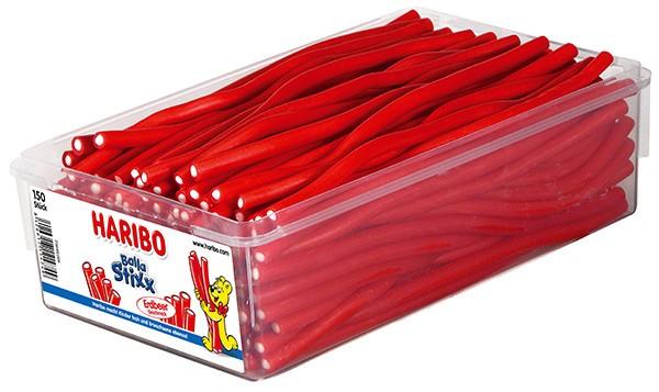 150 Haribo Balla Stixx Erdbeere 1125g