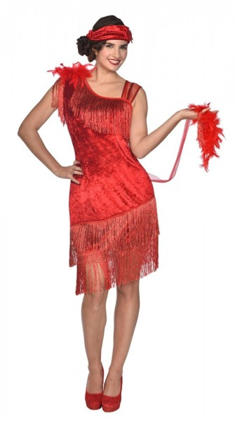 1920's Charleston Diva Costume Red