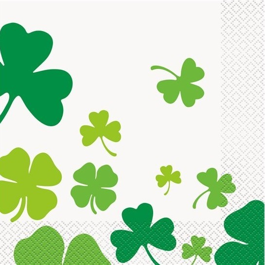 16 serwetek St Patricks Day 33 cm