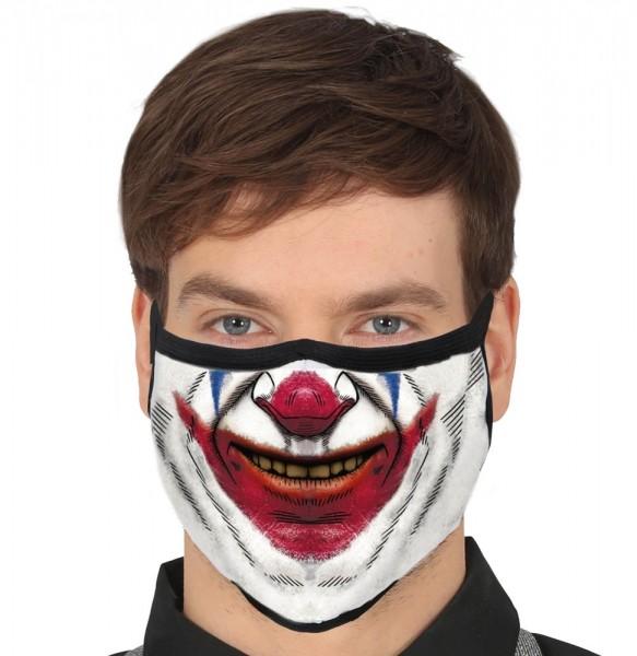 Mond- en neusmasker Halloween clown