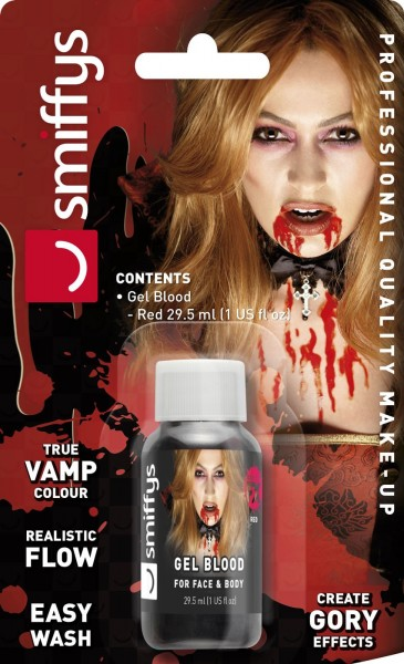 Realistisches Make Up Blut Gel 29,5ml