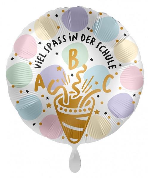 Viel Spaß in der Schule Folienballon 43cm