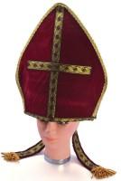 Rote Papst Haube