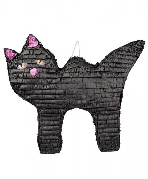 Schwarze Hexen Katzen Pinata 51 x 58cm