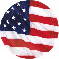 8 American Dream Pappteller 26cm