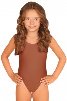 Body enfant Nelli en marron