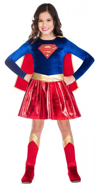 Supergirl Costume for Girls