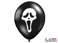50 Luftballons Screaming Ghost 30cm